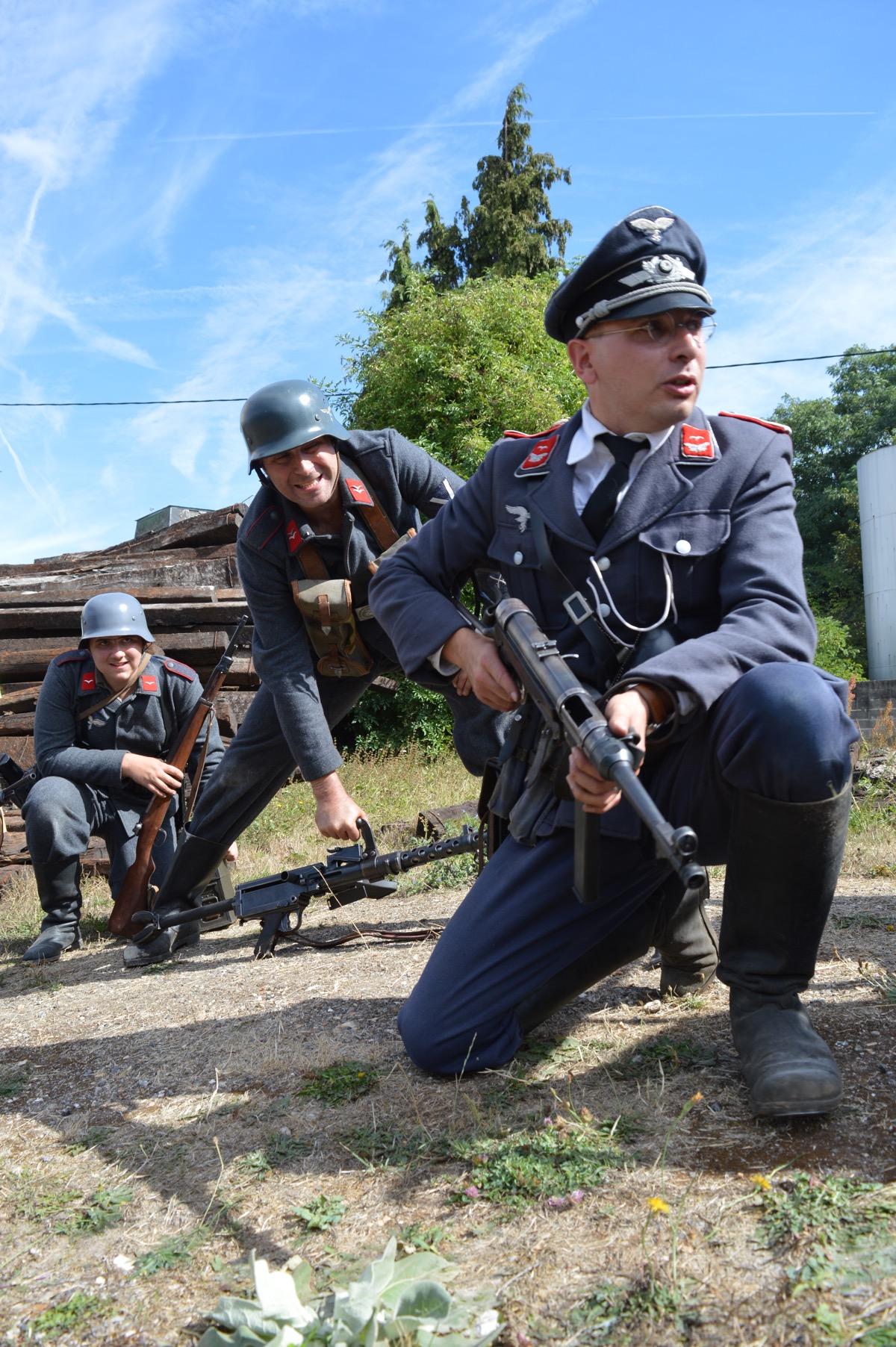 Reconstitution historique Train Libération 2016 WW2
