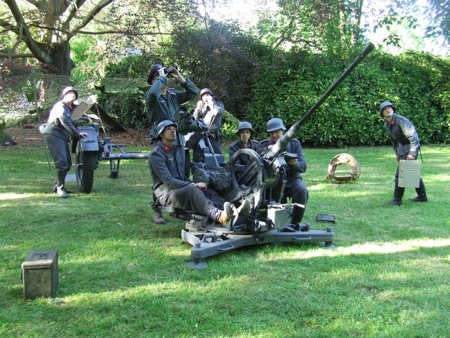Flak 38 Lufteaux reconstitution ww2