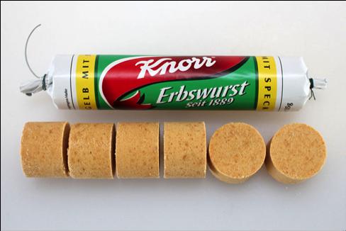 Erbswurst Knorr