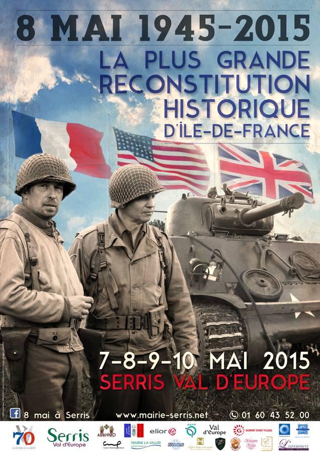 Reconstitution historique ww2 serris